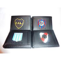 2x1 Billetera Futbol Boca River Casla Racing Independiente