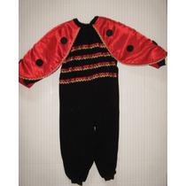 Disfraz De Mariquita - Coquito Para Niñas Talla 4