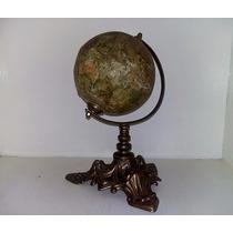 Antiguo Globo Terraqueo Abel Klinger C1850 Leer Descri Unico