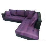 Sofa Seccional Modular En L 2,3x1,7m - Nor Moveis