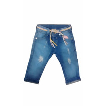 Calça Jeans De Bebê Destroyed Rasgada Coisa Mais Linda!!!