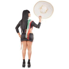 Lenceria Sexy Disfraz Mariachi Frack Dama Envio Gratis