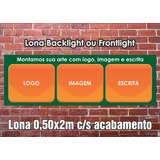 Lona Impressão Digital Frontlight - Propaganda Publicidade
