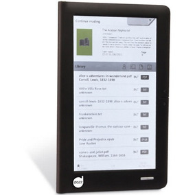 Leitor De Livro Digital E-reader 7 , 4gb Dazz Mania Virtual