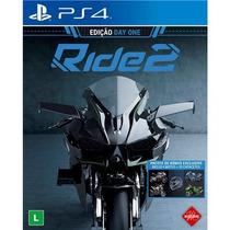 Ride 2 Playstation 4 Edição Day One - Jogo De Moto Pt-br