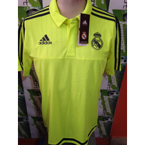 Playera Cuello Sport Adidas Real Madrid 100%original 2016