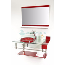 Kit Gabinete / Pia / Bancada Banheiro Tipo Astra Chopin 70cm