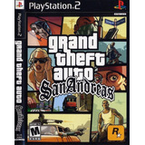Gta San Andreas Ps2 - Dvd Legendado Pt Br - Playstation 2