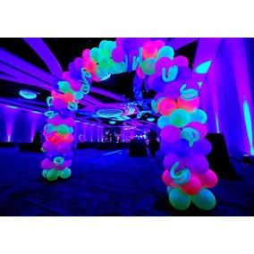Bexiga ,balão, Modelo Neon,c 50 Unidades Coloridos 10 Pacote