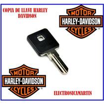 Copia Llave Harley Davidson