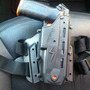 Coldre Esquerdo- Polímero P/ Pistola De Choque Spark-condor