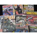 Lote 16 Revista Armas Cuchillo Pistola Militar Antiguo Guns