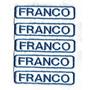 Nombres Bordados P/coser En Prendas X 5 U. Colores A Elecc.