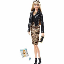 Barbie Colecionável The Barbie Look Style Blonde - Mattel