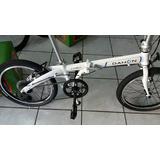 Bicicleta Dobrável Dahon Vybe D7 (branca/verm)