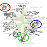 Kit Soporte Pata De Motor Caja Chevrolet Corsa Celta C/ Aire