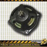 Carcaza Campana Rodamiento Y Piñon Mini Cuatriciclo 49cc