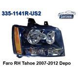 Faro Chevrolet Tahoe Derecho 2007-2012 Depo
