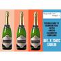 Champagne X 3 Litros Personalizado Con Tu Nombre