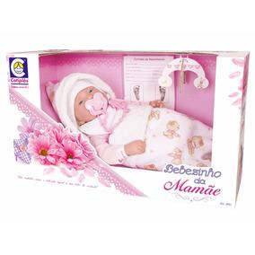 Boneca Bebezinho Da Mamãe Deitado 2091 - Cotiplás