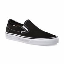 Zapatillas Vans Slip On Negras (panchas) - Oca Envíos