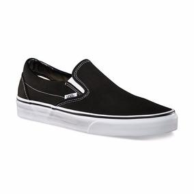 Zapatillas Vans Slip On Negras Mujer (panchas) - Oca Envíos