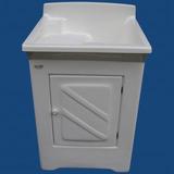 Tanque Lavar Roupas De Fibra 30 Litros Com Gabinete Difibra