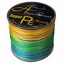 Linha Multifilamento Super Pe Braid 8 Fios 0,41mm 108lb 300m