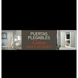 Puertas Plegables En Pvc Resistente. Totalmente Nuevas