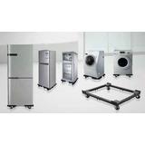 Base Regulable Para Lavadora Refrigeradora Frigobar Etc