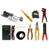 Kit Eletronica Ferramentas Para Eletricista 09 Itens 26 Peça