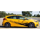 Sticker Vinil Franja Lateral Tuning Ford Focus St Splash