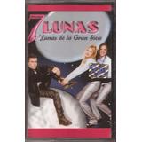 7 Lunas Cassette Lunas De La Gran Siete Cumbia 1999 Nuevo