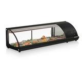 Vitrine Refrigerada Para Sushi 1,60 Gelopar Gvrb-160