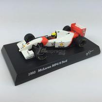 1993 Fórmula 1 Mclaren Mp4/8 Ford Ayrton Senna 1:64 Kyosho