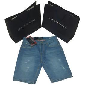 Bermudas De Jeans Caballeros Tommy Hilfiger Tallas 36 Y 38