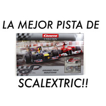 Pista Carrera Evolution Slot 1/32 Scalextric F1 Excelente!!