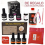 Kit Completo Para Esmaltado Semipermanente Gel On Off Thuya