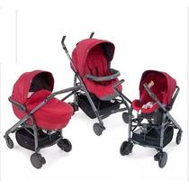 Carrinho De Bebê Trio Love Chicco Completo!!!
