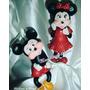 Adorno Para Torta De Mickey Y Minie Clásicos Y Baby