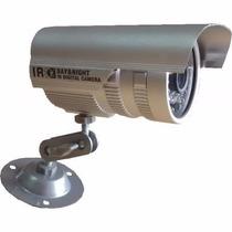 Câmera De Vigilância Ir 30 Metros Ccd Sony 1/3 Ip66 36 Leds