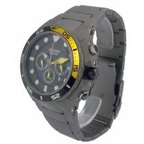 Relógio Orient Masculino Seatech Solar Mbttc014