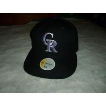 Gorra Negra- Béisbol- New Era- Colorado Rockies
