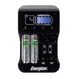 Cargador De Baterías Energizer Digital Con 2 Baterías