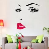 Vinil Sticker Decorativo De Pared Habitación Estética Tienda