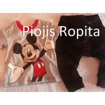 Set Mickey 2p Remera Babucha Nene Y+ Ropa Importada Gap Polo