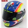 Valentino Rossi Casco Agv Escala 1/2 2005 Motogp Nuevo!