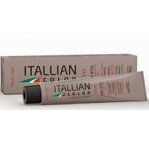 Itallian Hair Color Tintura Coloração Tubo Com 60g