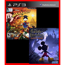 Ducktales E Mickey Castle Of Illusion Ps3 Psn Infantil