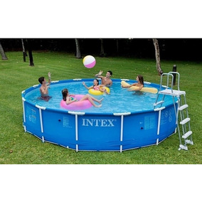Piscina Intex 3.05 X 76 Cm Metal Frame (4.485 Lts)